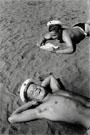 Евгений Халдей. На пляже (моряки Черноморского флота), 1950-е гг.