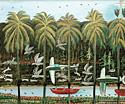 «Русские путешественники в Африке» - одна из любимых тем художника