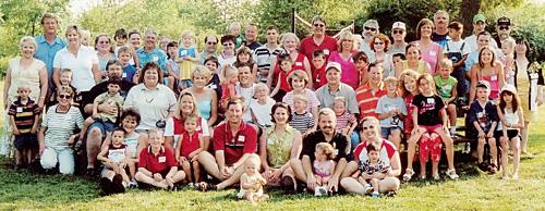 Ежегодный пикник американских семей с усыновленными детьми в Айове