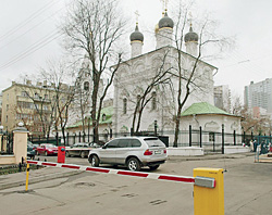 Москва. Старопесковский проезд
