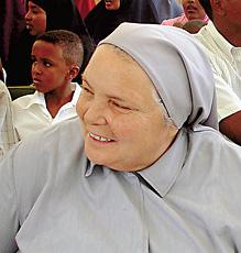 Леонелла Сгорбати, сестра в детском госпитале в Сомали, была убита исламскими фанатиками 17 сентября