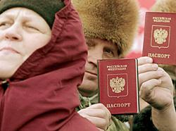 У большинства жителей Приднестровья-паспорта граждан РФ