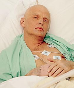 Последний прижизненный снимок бывшего офицера ФСБ Александра Литвиненко