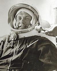 Космонавт Попович весной 1960 года