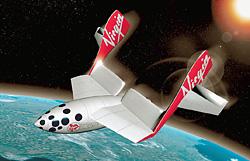 SpaceShipTwo готовится выйти на орбиту в 2008 году