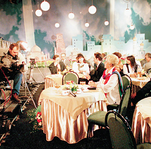 На РТР «Голубой огонек» запустили после популярного проекта ОРТ «Старые песни о главном»