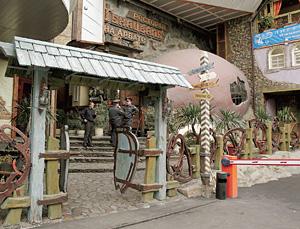 Ресторан «Генацвале» снаружи