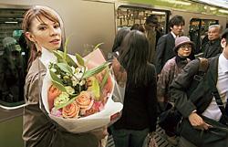 Знакомство с городом. Мария Александрова в токийской подземке