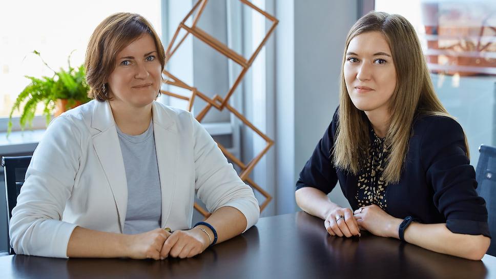 Екатерина Фроловичева (слева) и Ольга Махаёва