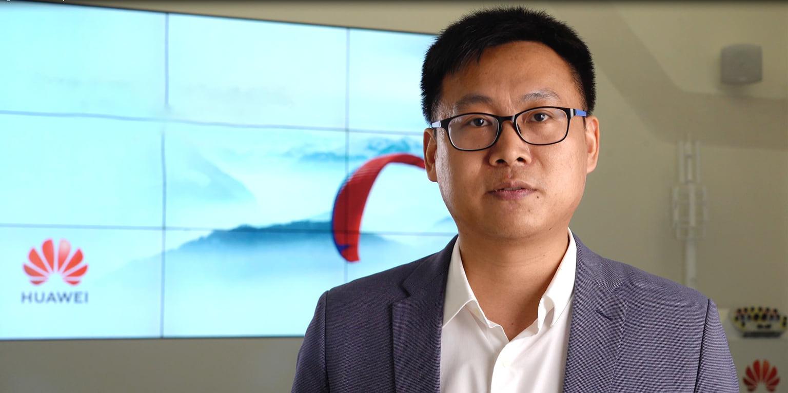 Ван Хуасинь, директор департамента интегрированных решений и бизнеса для видео Huawei в регионе Евразия