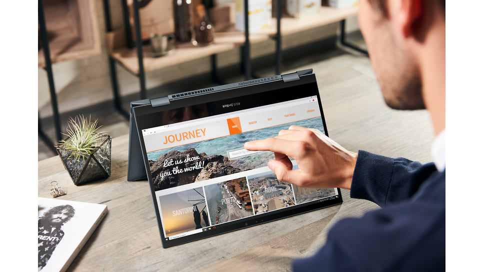 ZenBook Flip 13 на базе процессораIntel®Core™i7