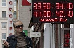 Интервенция на валютном рынке