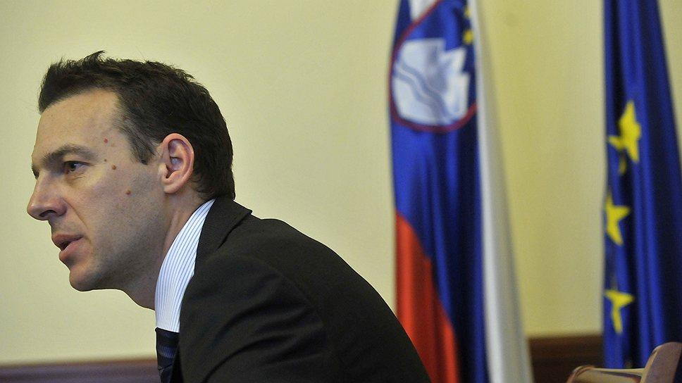 Министр финансов Словении Урос Куфер