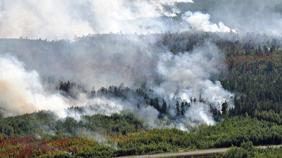 «Хуже всего дела с пожарами обстоят в Якутии, Туве и Забайкальском крае»