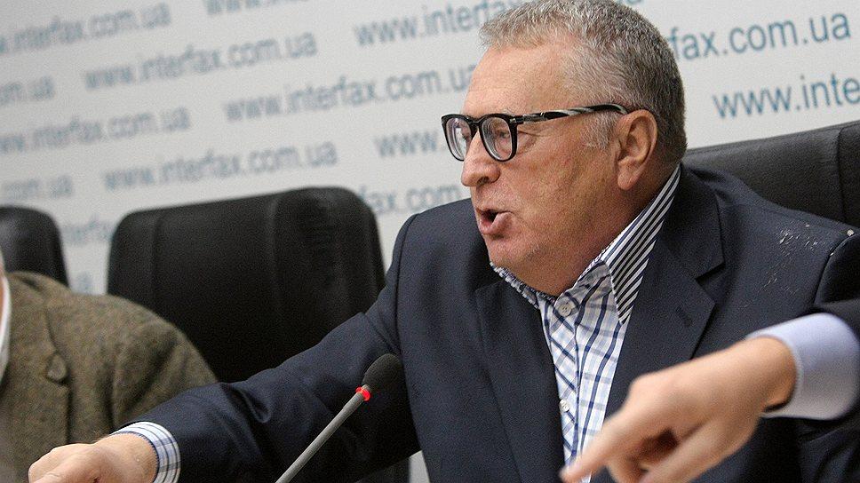 «Сейчас Жириновский перешел все границы»