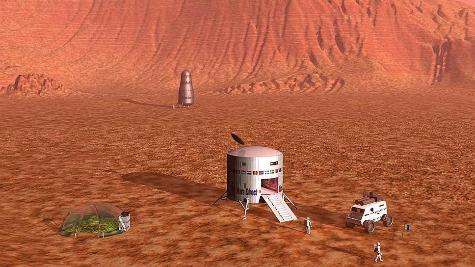 «У американских астронавтов есть достаточно хорошие шансы облететь красную планету»