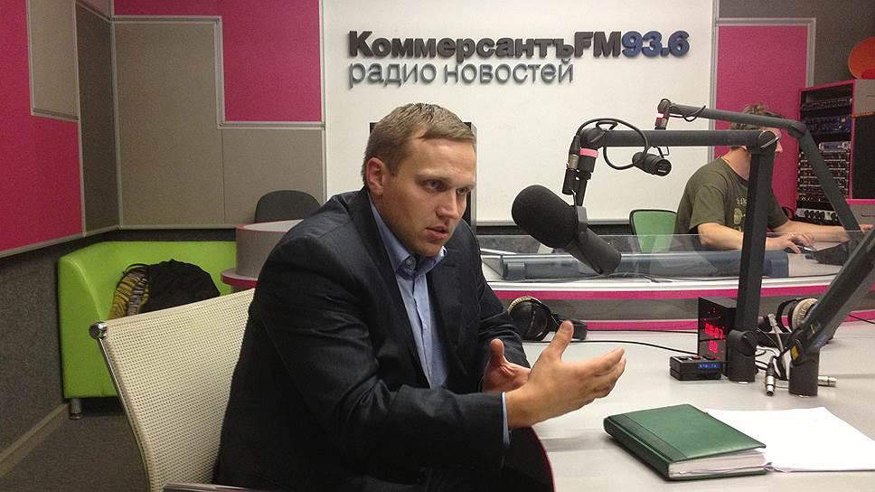 """Генеральный директор технопарка """"Строгино"""" Сергей Теплов"""