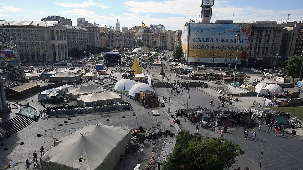«Майдан сейчас — это палатки, в которых живут люди с тяжелейшей психотравмой»