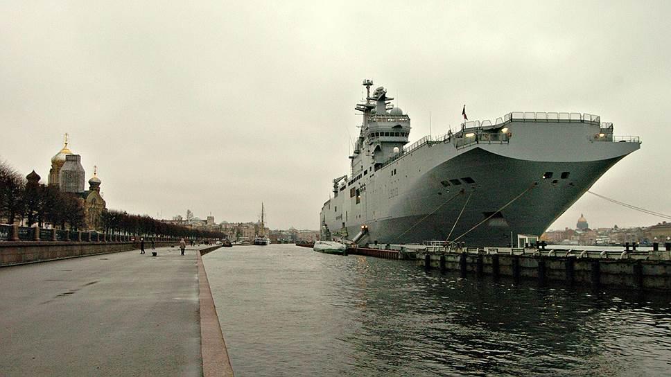 «Речь о разрыве контракта на поставку кораблей Mistral не идет»