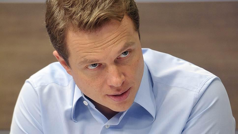 Глава столичного департамента транспорта Максим Ликсутов