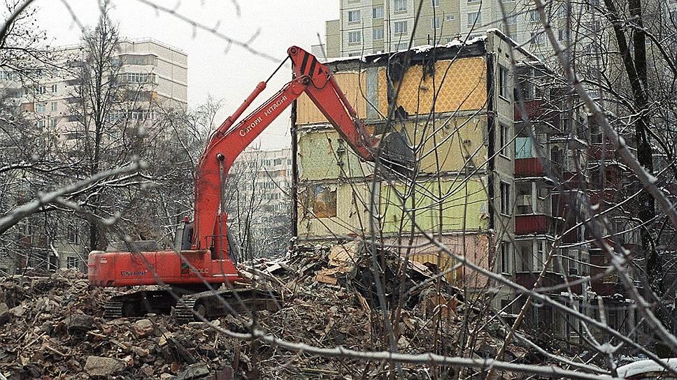 К декабрю 2015 года план по сносу московских хрущевок был выполнен на 90%