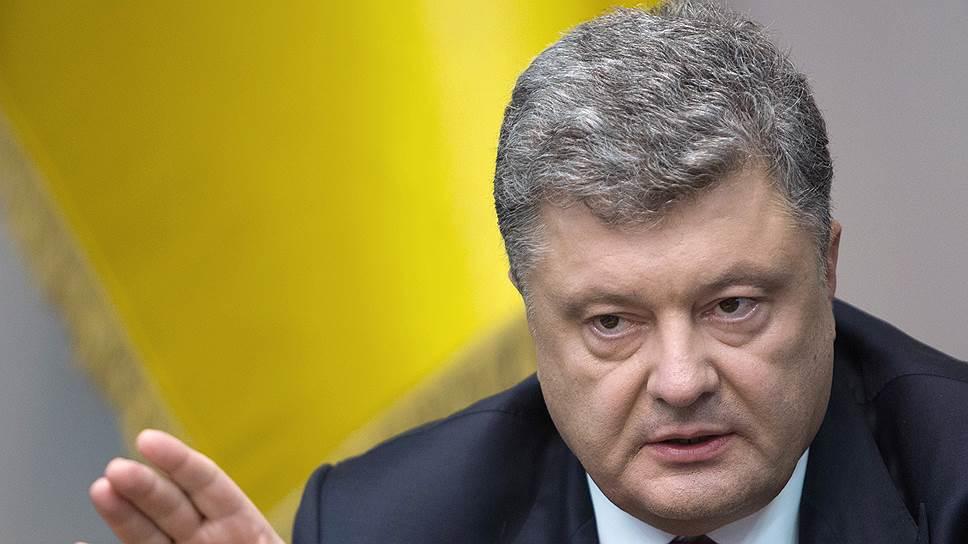 Почему Петр Порошенко настаивал на отставке Яценюка