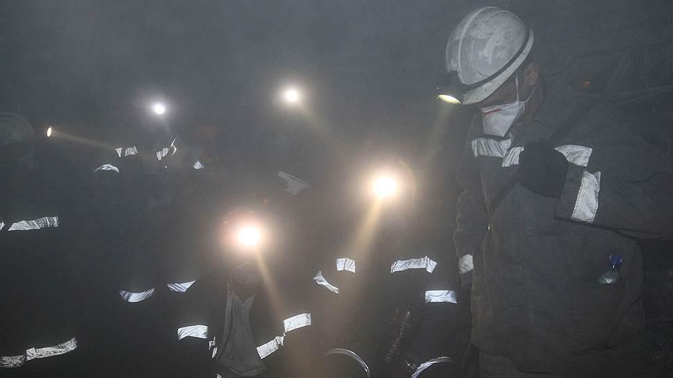Как проходила эвакуация шахтеров