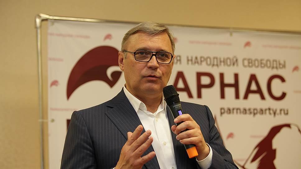 Михаил Касьянов: мы ведем совершенно открытую политическую кампанию