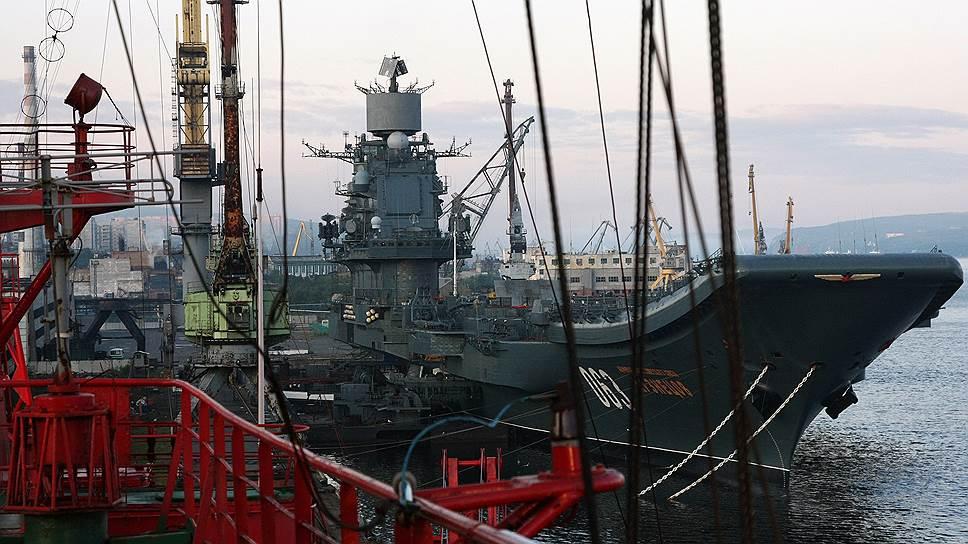 Как с авианосца «Адмирал Кузнецов» впервые поднялись российские самолеты