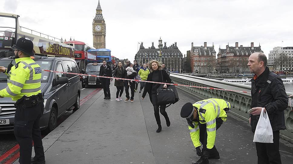 Как произошла атака у здания парламента в Лондоне