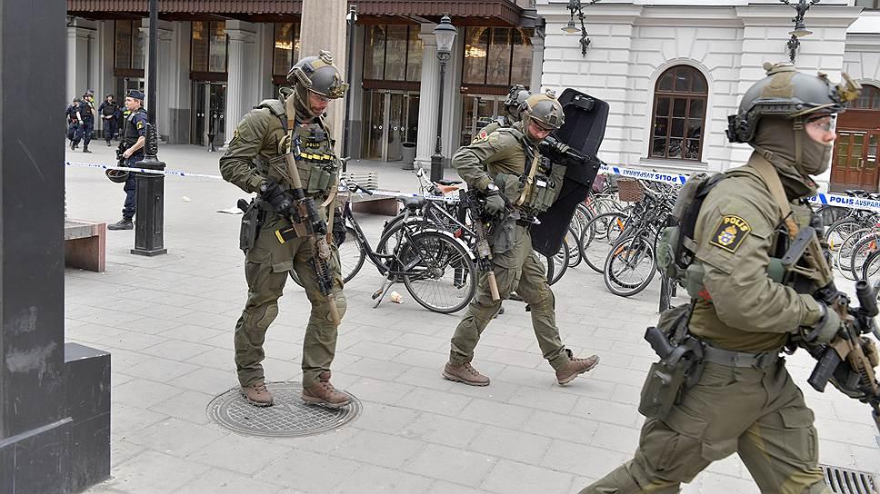 Жительница Стокгольма об обстановке в городе