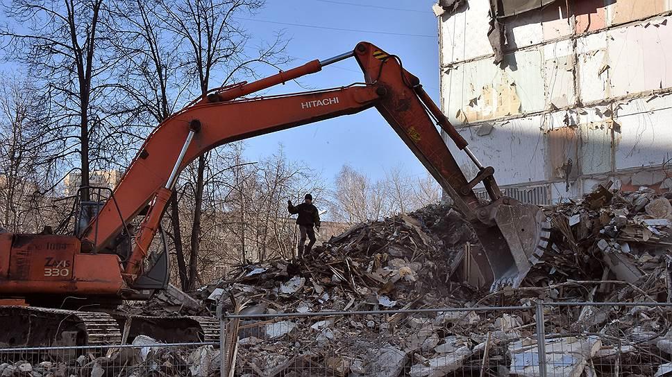 Что будет с обломками разрушенных домов в Москве