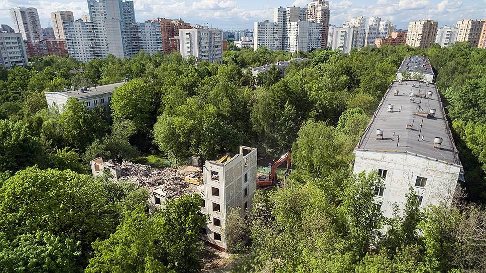 Какие дома могут построить на месте пятиэтажек