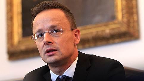 «Санкции нанесли ущерб всем»  / Министр иностранных дел Венгрии Петер Сийярто — в интервью «Ъ FM»
