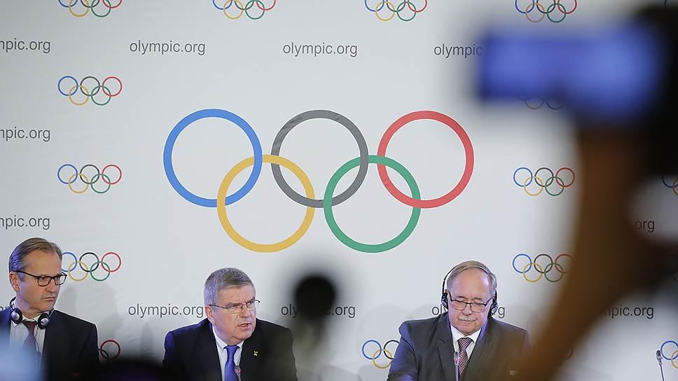 Спортсмены и политики в эфире «Ъ FM» — о решении МОК