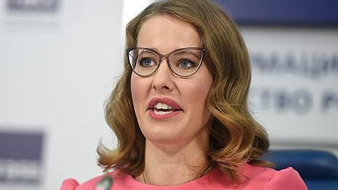 Кандидат назвала имена  / Кто спонсирует кампанию Ксении Собчак