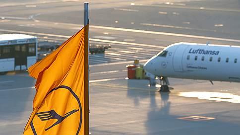 Lufthansa невольно объявила забастовку // Кто пострадает из-за протестов работников немецких аэропортов
