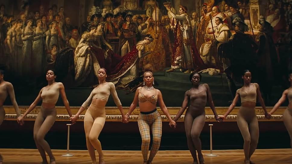Бейонсе и Jay-Z превратили Лувр в танцплощадку