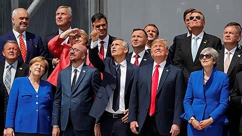 «Все разногласия между членами НАТО могут решиться при первом желании Трампа» // Корреспондент газеты «Ъ» — о саммите альянса в Брюсселе