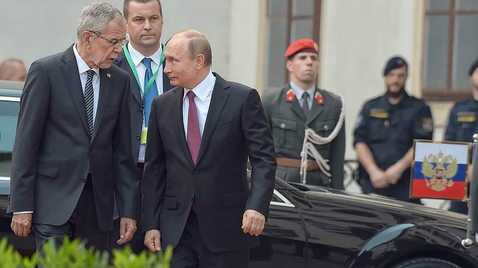 Как в Австрии готовились к приезду Владимира Путина на свадьбу