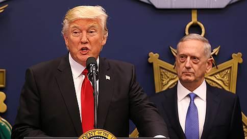 Дональд Трамп присматривается к главе Пентагона // Грозит ли Джеймсу Мэттису отставка