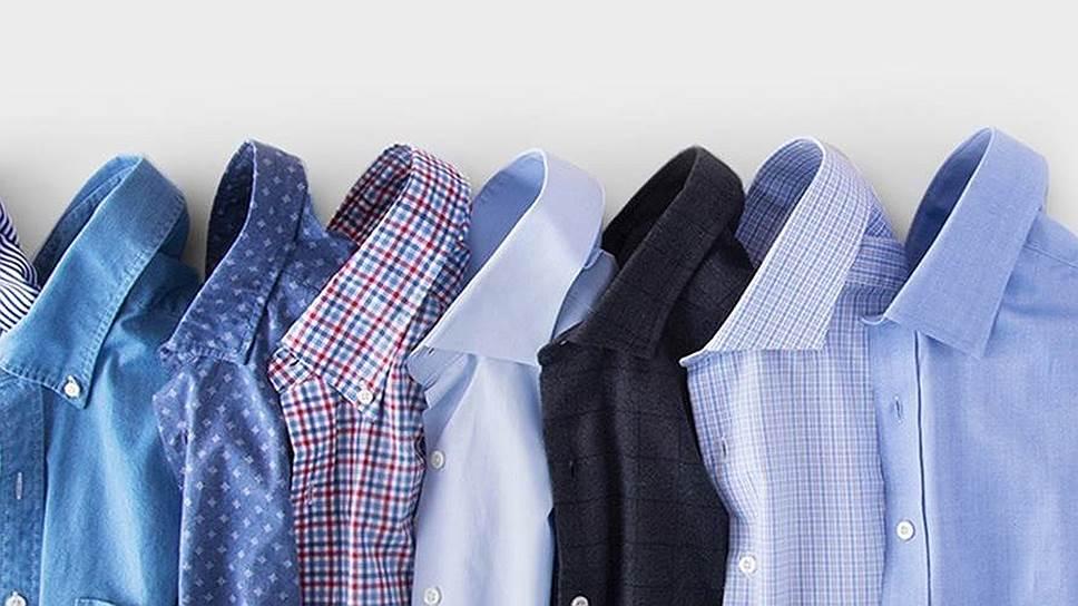 Как мужские рубашки сдают в аренду