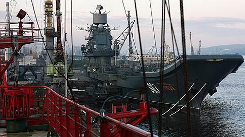 «Адмирал Кузнецов» пережил аварийно-ремонтные работы // Что могло послужить причиной ЧП в Мурманске