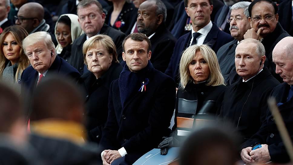 Чем запомнилась встреча глав государств в Париже