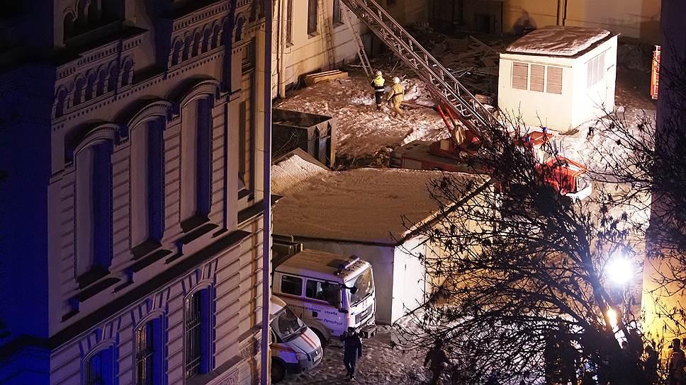 Как в ИТМО обрушилась крыша