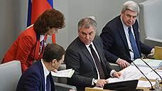 Вячеслав Володин заочно проголосовал за «суверенный рунет»