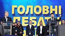 России не понравились дебаты Порошенко и Зеленского
