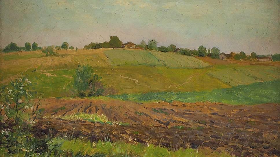 "Где обнаружили картину Исаака Левитана ""Летний пейзаж. Пашня"""