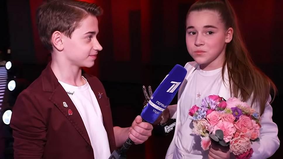 Победительница шоу «Голос.Дети» Микелла Абрамова