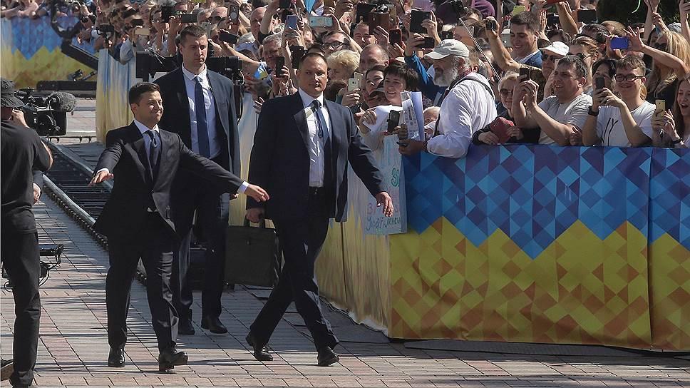 Как прошла церемония инаугурации нового президента Украины